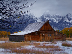 Early Teton Fall Snow