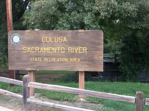 Camping at Colusa Sacramento River SR