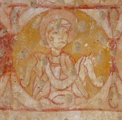 prophet with a scroll
