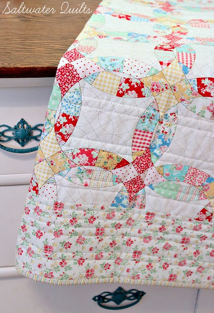 Sweetie Pie Quilt Back