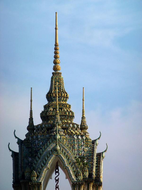 Cloche du Wat Pho - Bangkok - Thaïlande - mars 2013
