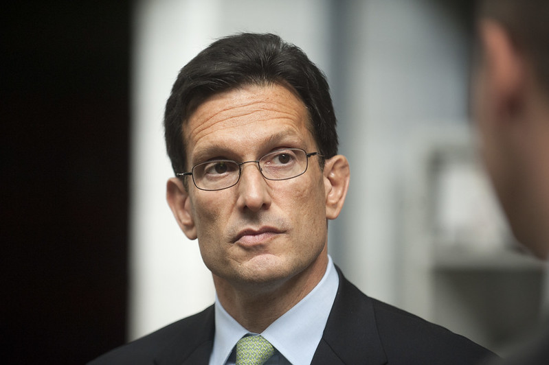 U.S. Majority Leader Congressman Eric Cantor (R - Virginia)