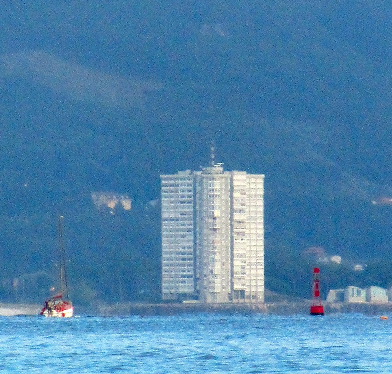 The building in the Sea