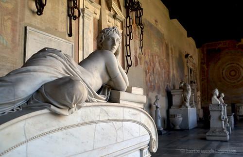 Campo Santo o cementerio de Pisa