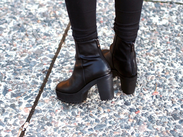 choies black boots
