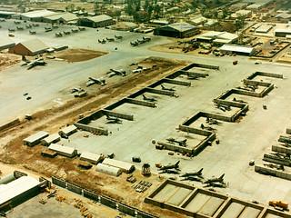 Không Ảnh Căn Cứ Không Quân Biên Hòa 1965/67