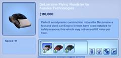 DeLorraine Flying Roadster by Arasika Technologies