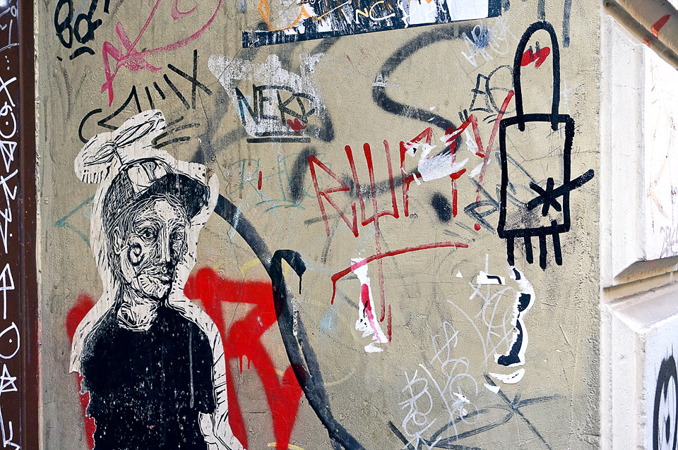 Street Art Künstler Gerdt Hamburg
