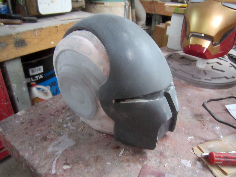 Helmet Progress