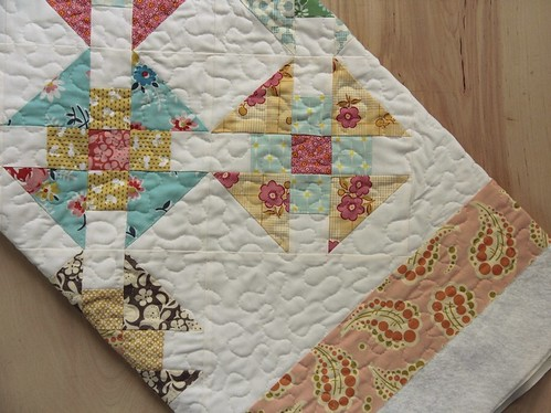 Double Wrench Baby Quilts - c