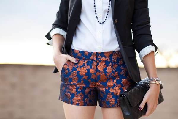 jcrew-copper-bloom-jacquard-shorts-petite-fashion-blog-los-angeles