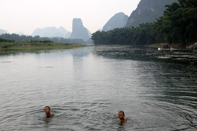 The beauty of Yangshuo