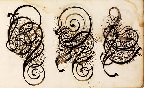 014-Kalligraphische Schriftvorlagen- 1626-1634- Johann Hering- Staatsbibliothek Bamberg