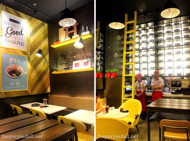Chef's Noodle Robinsons Magnolia Restaurant Interior