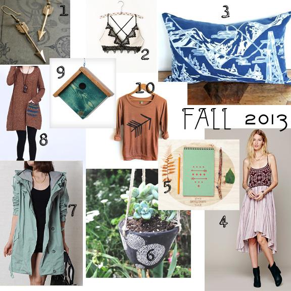 fall wishlist 2013
