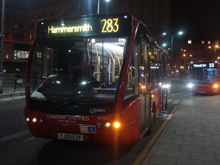 London United OV55 on Route 283, Hammersmith