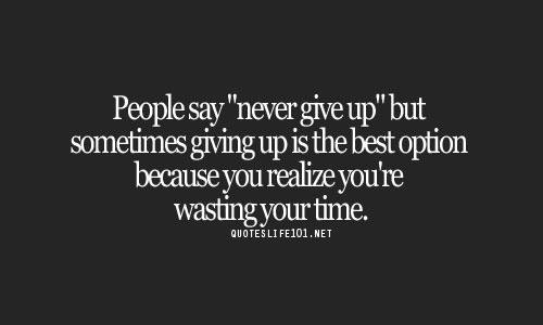 WASTING TIME QUOTES image quotes at BuzzQuotes.com