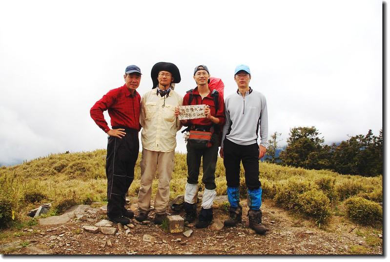 志佳陽大山基點峰(Elev. 3289 m)