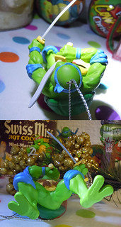 "AMERICAN GREETINGS :: TEENAGE MUTANT NINJA TURTLES - ""Leonardo"" Ornament viii (( 2013 ))"