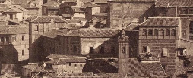 Palacio de Munárriz en 1857. Fotografía de Charles Clifford (detalle)