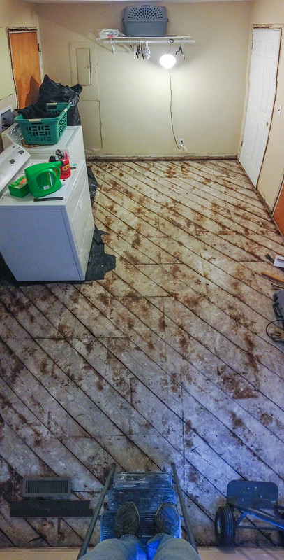 Replacing Plank Subfloor With Plywood Ceramic Tile