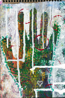 Art Journal - My Hand of Strength