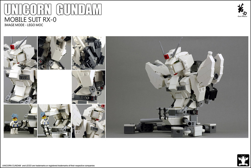 LEGO UNICORN GUNDAM 0002