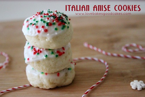 Italian Anise Cookies, Holiday Cookie Linky Party and a $50 Target ...