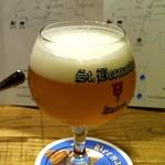 ベルギービール大好き!!セント・ベルナルデュス・トリプルSt Bernardus Tripel @ブラッスリー セント・ベルナルデュス