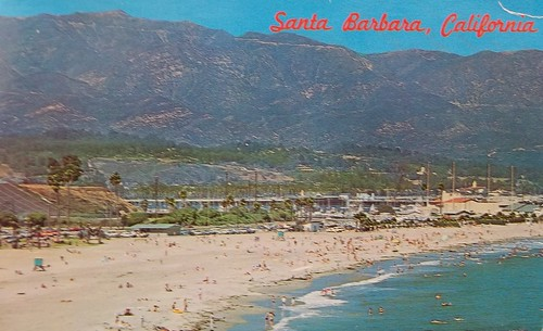 Leadbetter Beach, Santa Barbara, California
