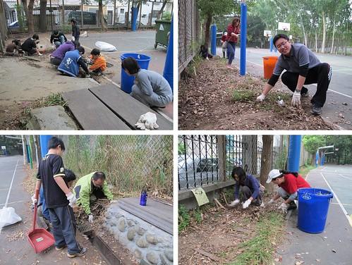 主任、老師、家長、小朋友共同合作,圖片來源:孟琬瑜