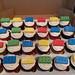 Lego bricks cupcakes