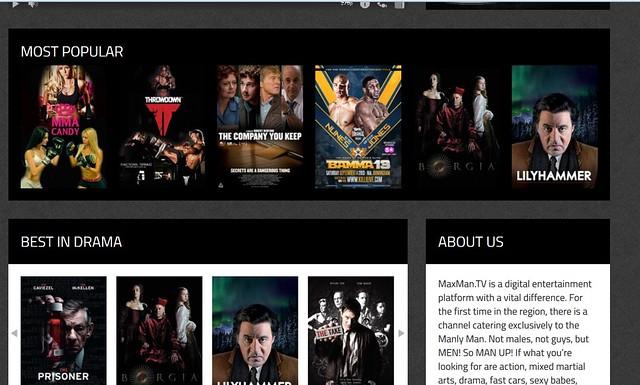 maxman TV site 1