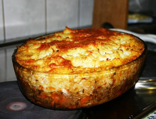 Gluten free Cottage Pie, PALEO