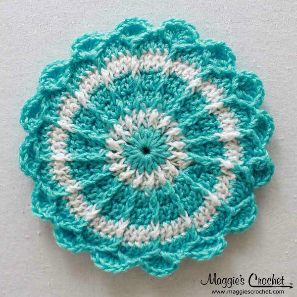 Holiday CD Coaster Crochet Patterns PA950 Flickr