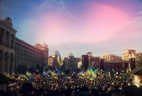 EuroMaidan, 22 December. by grocap