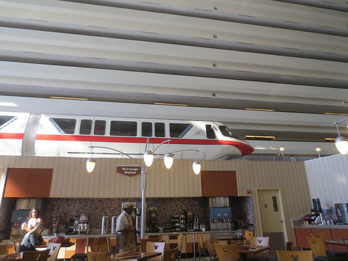 Monorail at breakfast