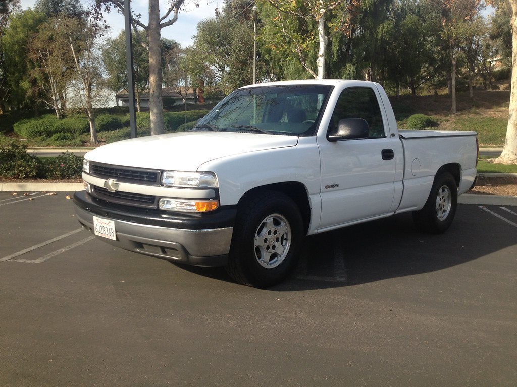 buy used 2000 chevrolet silverado 1500 ls 1 owner very clean in glendora california united. Black Bedroom Furniture Sets. Home Design Ideas