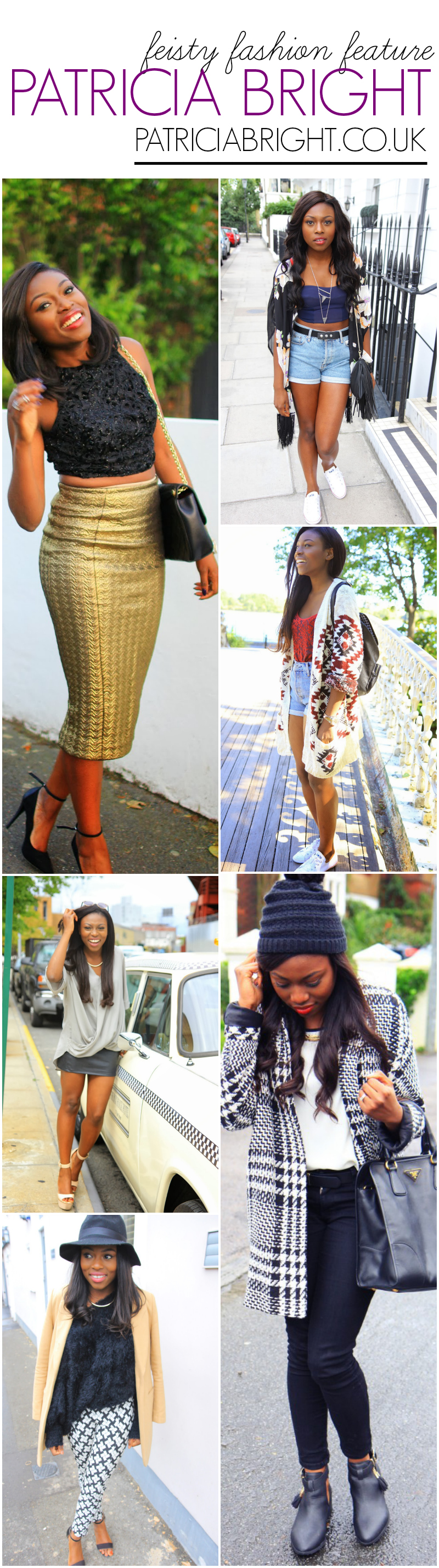 feisty fashion feature - black style blogger - black fashion blogger - Patricia Bright featured on The Feisty House