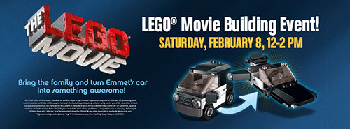 The LEGO Movie Toys R US Building Event