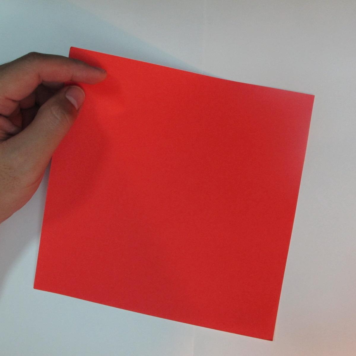 วิธีพับกระดาษพับดอกกุหลาบ 001