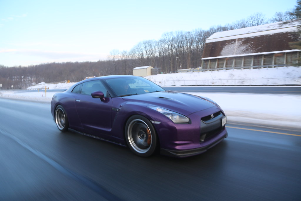 Midnight Purple Wrap With Gtc Duckbill Trunk Interior