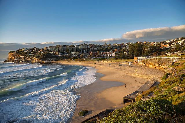 Bronte beach in Sydney, Australia.