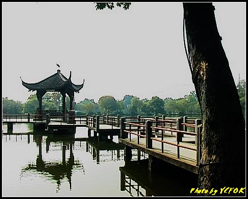 杭州 西湖 (其他景點) - 410 (西湖小瀛洲 小瀛州上的三角亭)