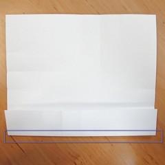 สอนการพับกระดาษเป็นที่ใส่ของรูปกลีบกุหลาบ (Rose box origami) 016