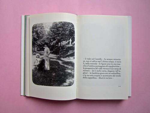 Lalla Romano, Nuovo romanzo di figure. Einaudi 1997. Responsabilità grafiche non indicate. Pag. 106 e 107 (part.), 1
