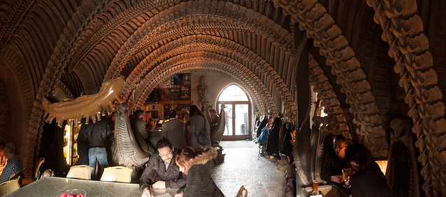 H R Giger Bar, Gruyeres, Switzerland