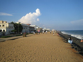 1305. On the Beach: Pondicherry