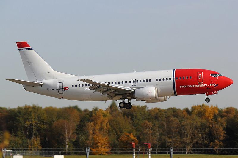 Norwegian - B733 - LN-KKD
