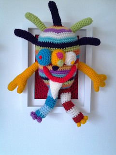 crochet my monster by www.loopyloudesigns.com